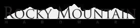 Logo Rocky Mountain Hardware Acabados de Cerraduras Comerciales